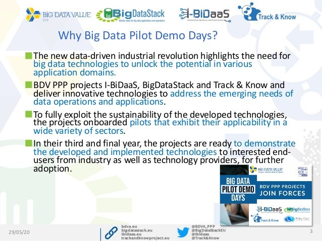 BigDataPilotDemoDays - I-BiDaaS Application to the Financial Sector Webinar Slide 3