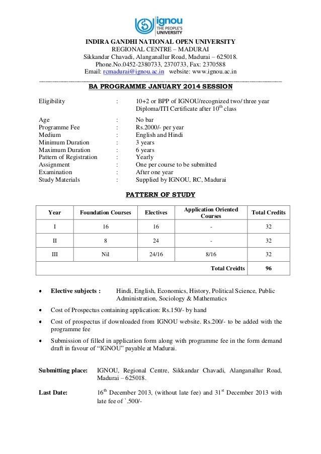 Ba english study materials