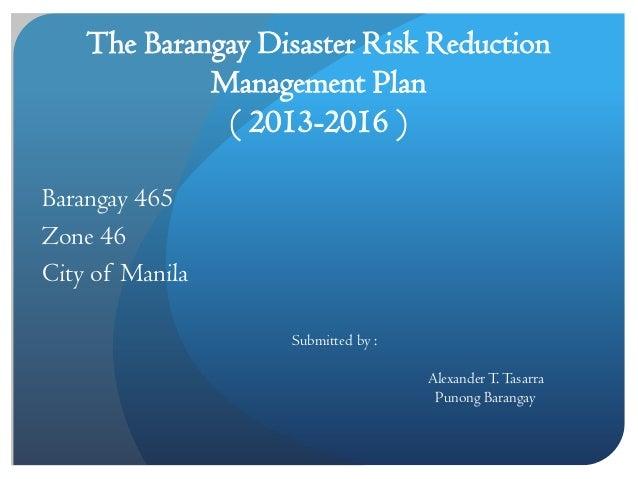 Barangay budget message