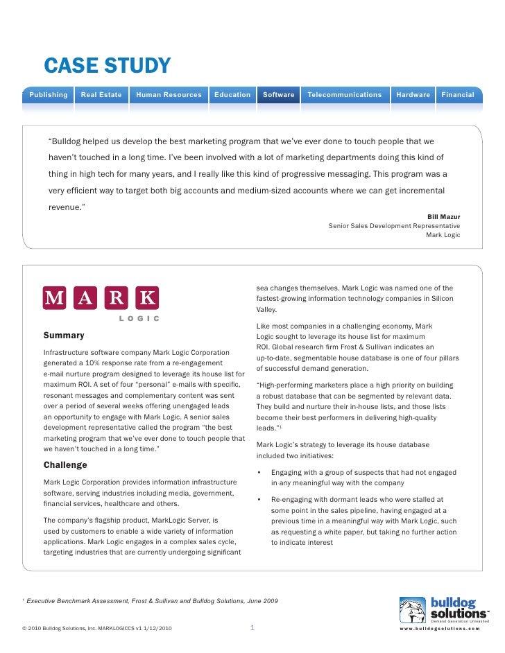 Case study     Publishing       Real Estate         Human Resources        Education          Software     Telecommunicati...