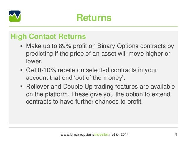 Big option binary broker review