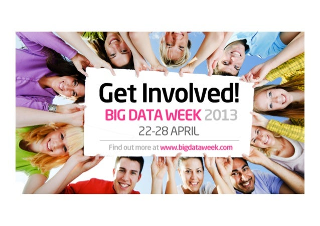 What is Big Data Week all about?We're a festival of big ideas about data.Big Data Week is one of the most unique global pl...
