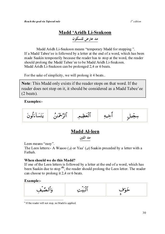 tajweed rules in malayalam pdf