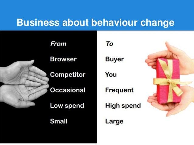 Business about behaviour change