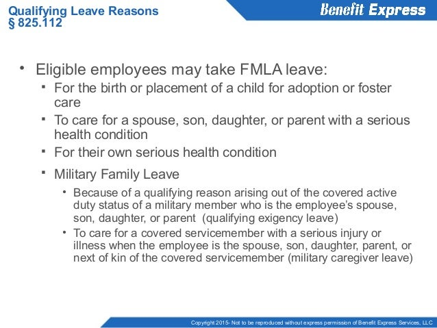 Keeping Up To Date With Fmla
