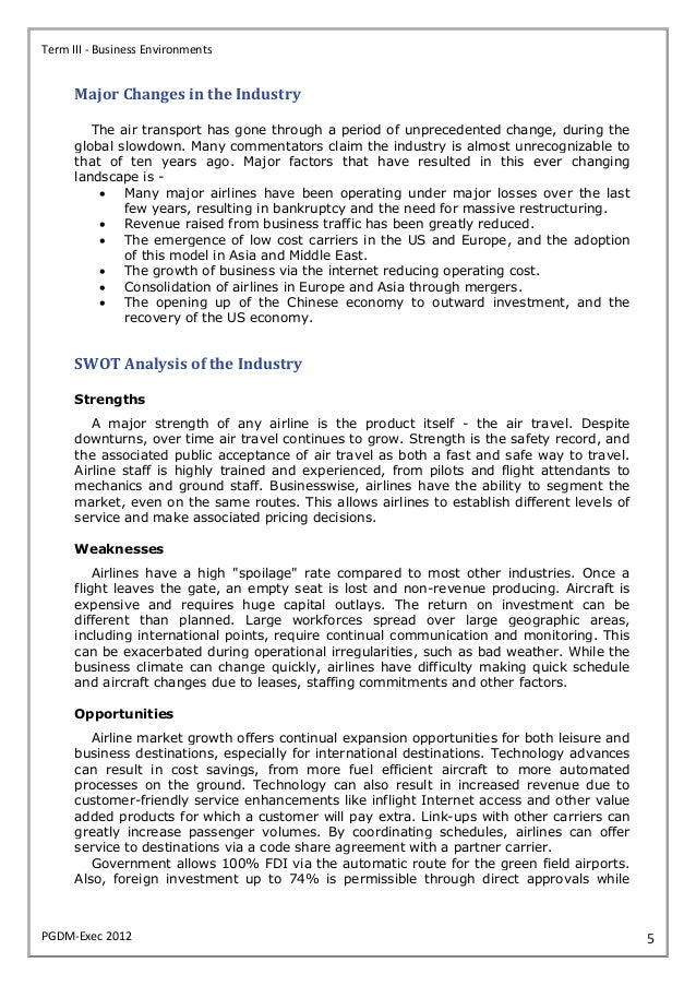 generaly environment analysis cathay pacific Market analysis of cathay pacific airlines print reference this  published: 23rd march, 2015  disclaimer: this essay has been submitted by a student this is not an example of the work.