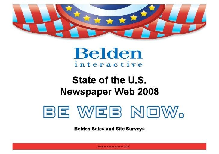 Belden Associates © 2008
