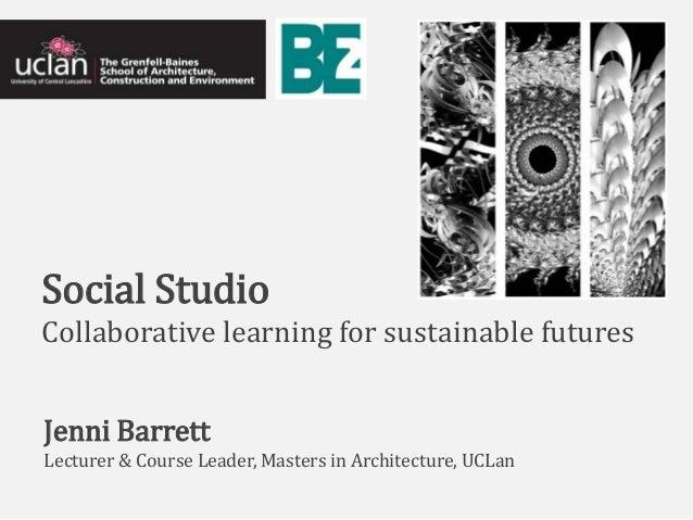Social Studio: Network learning/values-based education