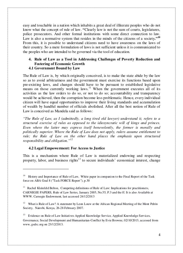 Science Essay Questions Essay On Rule Of Law  Good Persuasive Essay Topics For High School also Good High School Essay Topics Essay On Rules  Barcafontanacountryinncom Mental Health Essay