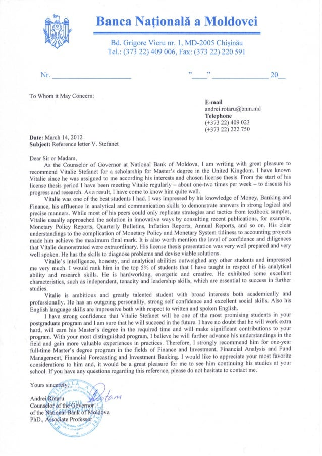 Reference letter from dr andrei rotaru phd associate professor reference letter from dr andrei rotaru phd associate professor counselor expocarfo Gallery
