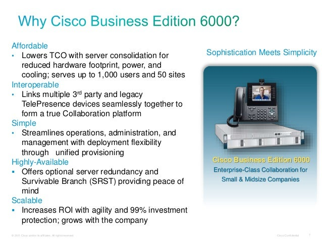 cisco business edition 6000 ordering guide 11.0