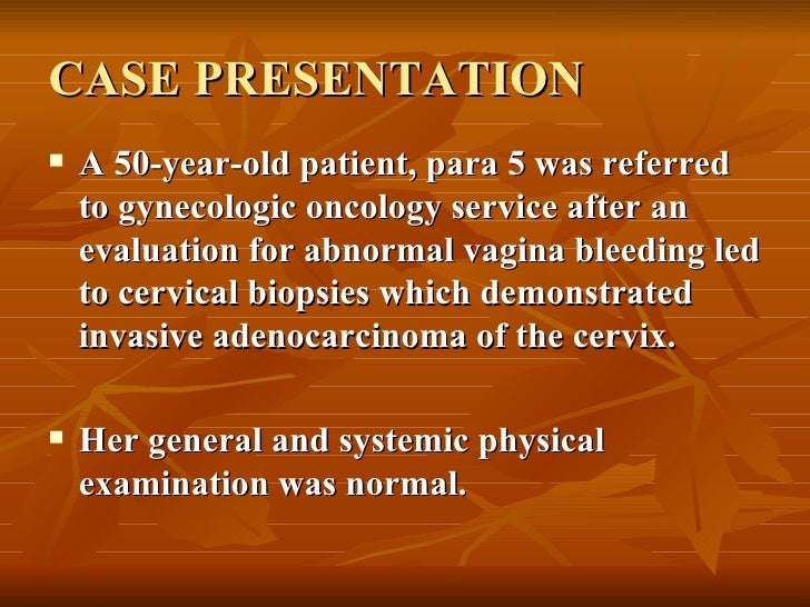 cancer case study of patients in india Jussawalla d j, giovannucci e and ascherio a vasectomy and prostate cancer: a case-control study in india to detect patients with cancer those patients who live.