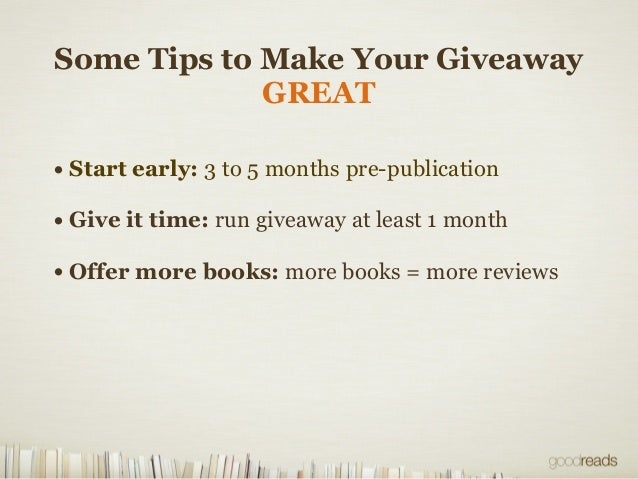 Top books of all time goodreads giveaways