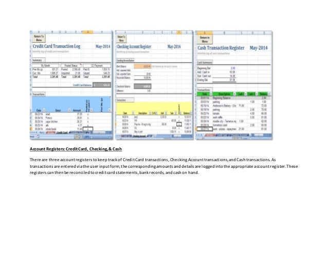 personal finance tracker