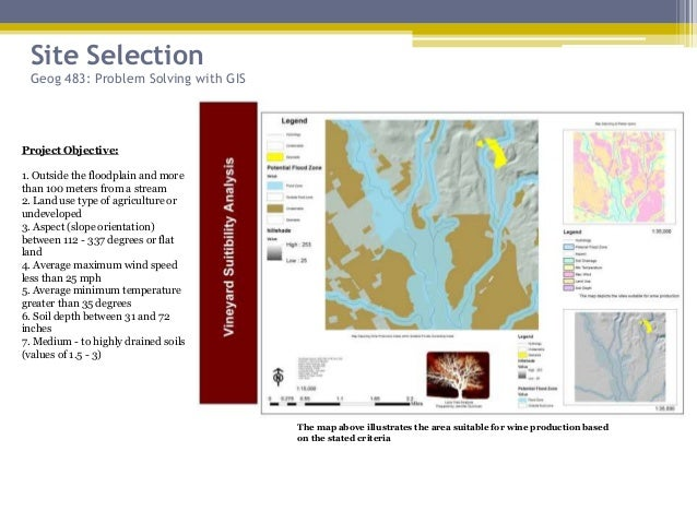 geog 483 problem solving with gis