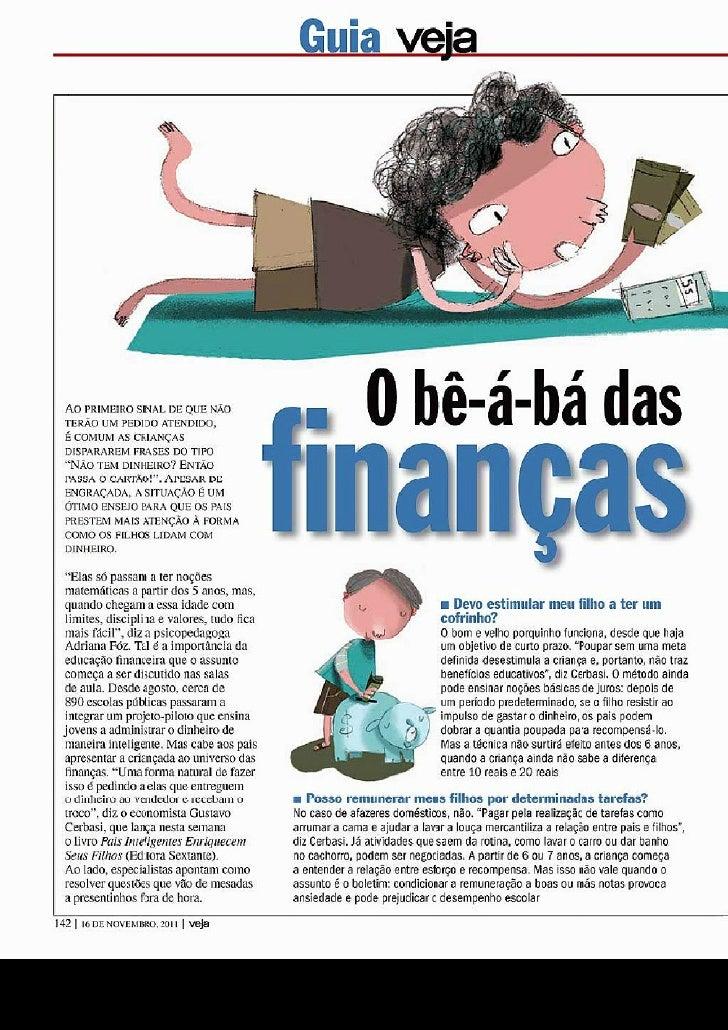 Be a bá das finanças para crianças