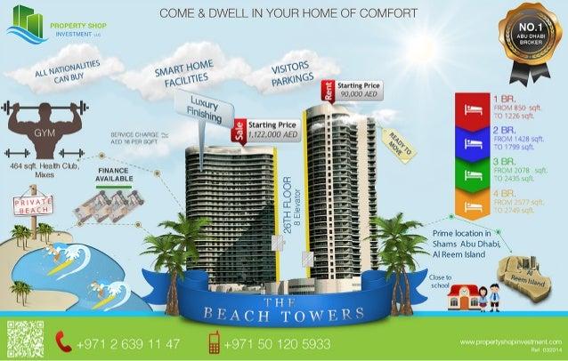 Beach Towers Al reem Island Abu Dhabi