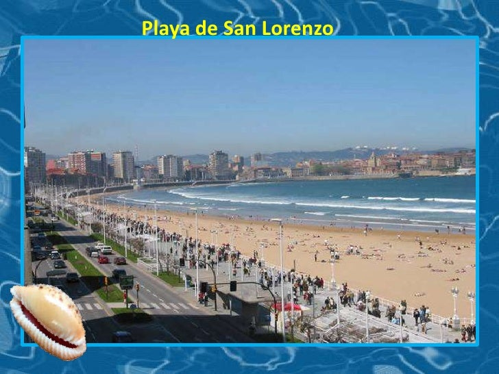 Playa de San Lorenzo <br />