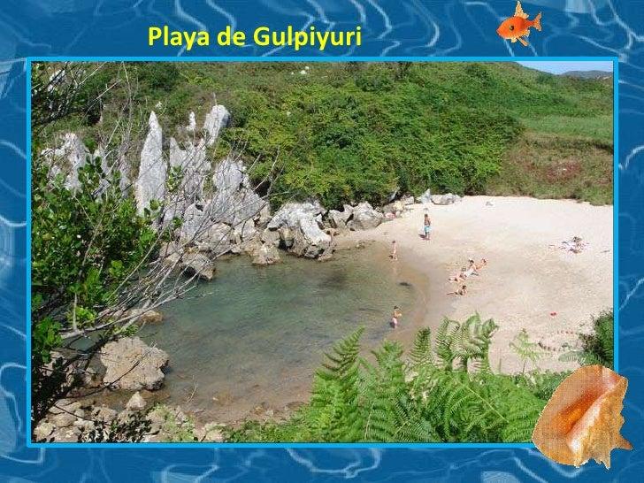 Playa de Gulpiyuri<br />