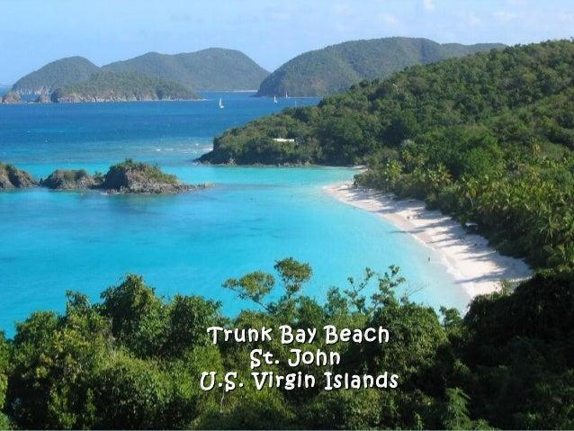 Trunk Bay BeachTrunk Bay Beach St. JohnSt. John U.S. Virgin IslandsU.S. Virgin Islands
