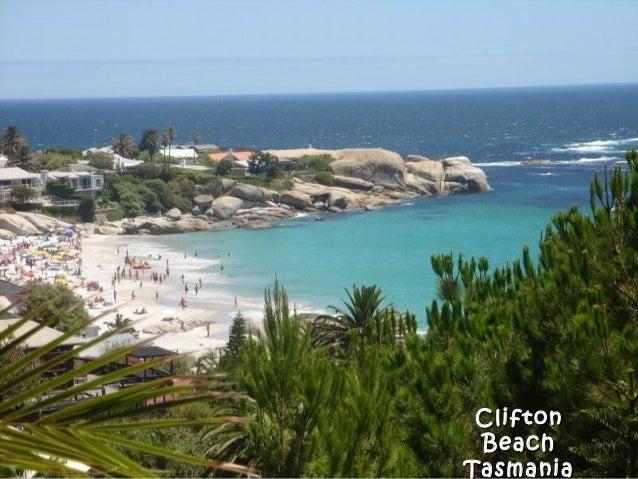 CliftonClifton BeachBeach TasmaniaTasmania