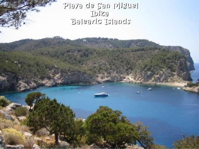 Playa de San MiguelPlaya de San Miguel IbizaIbiza Balearic IslandsBalearic Islands