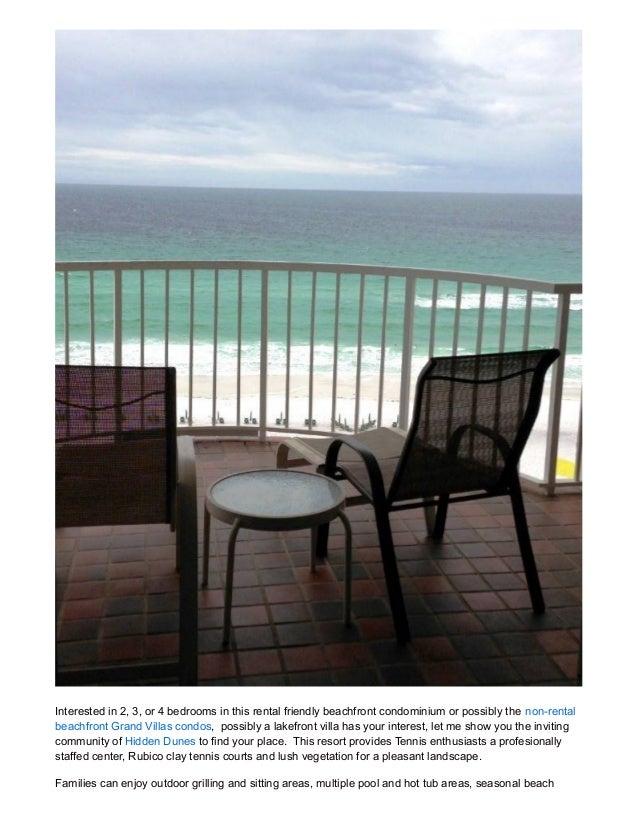 Beachfront Condo For Sale Hidden Dunes Miramar Beach Florida