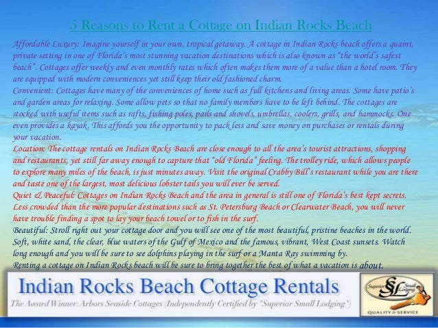 Beachfront Hotel Indian Rocks Beach Fl