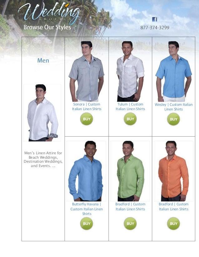 Linen Dress for Men