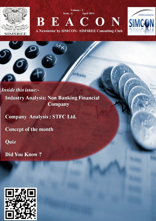 B E A C O N A Newsletter by SIMCON– SIMSREE Consulting Club Volume : 2 Issue : 6 April 2014