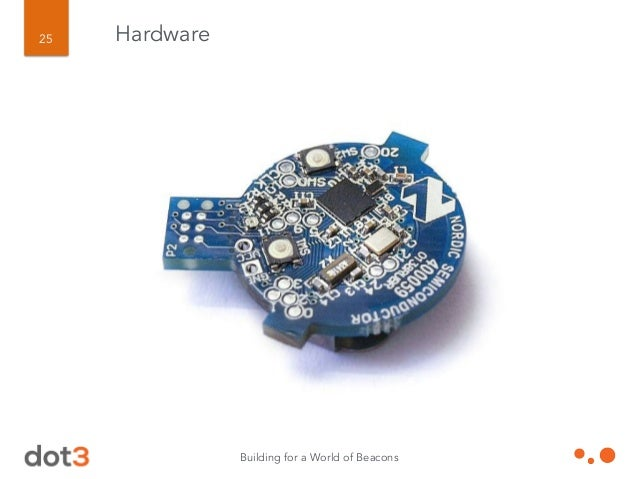 Building for a World of Beacons 26 Hardware