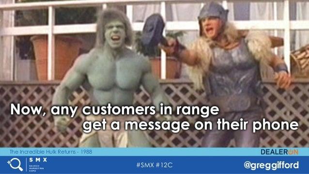#SMX #12C @greggifford The Incredible Hulk Returns - 1988