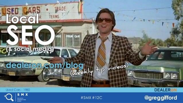 #SMX #12C @greggifford Used Cars - 1980
