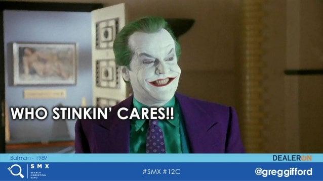 #SMX #12C @greggifford Batman - 1989