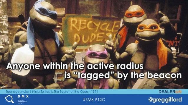 #SMX #12C @greggifford Teenage Mutant Ninja Turtles II: The Secret of the Ooze - 1991