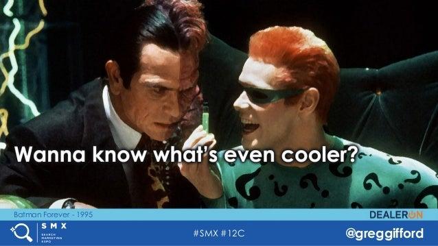 #SMX #12C @greggifford Batman Forever - 1995