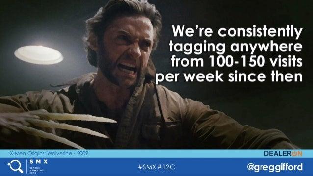#SMX #12C @greggifford X-Men Origins: Wolverine - 2009