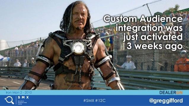 #SMX #12C @greggifford Iron Man 2 - 2010
