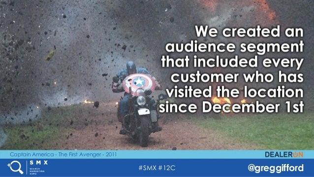 #SMX #12C @greggifford Captain America - The First Avenger - 2011