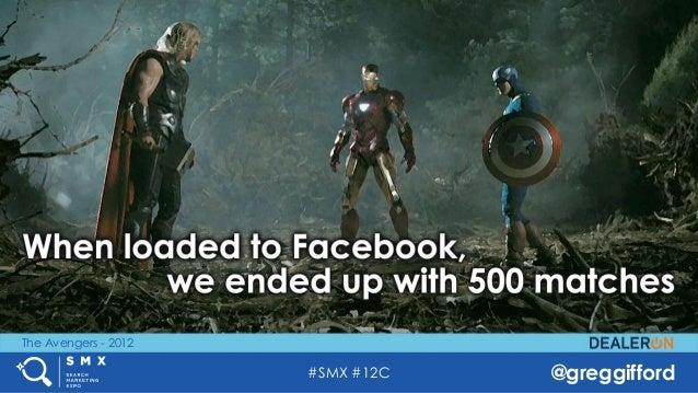 #SMX #12C @greggifford The Avengers - 2012