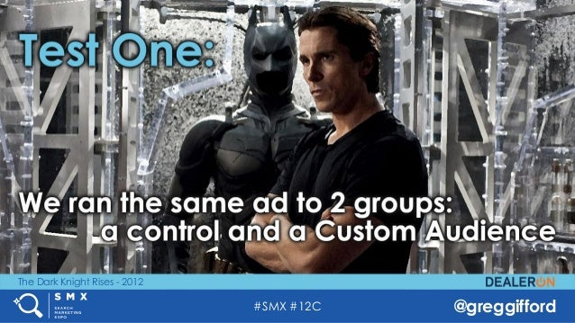 #SMX #12C @greggifford The Dark Knight Rises - 2012