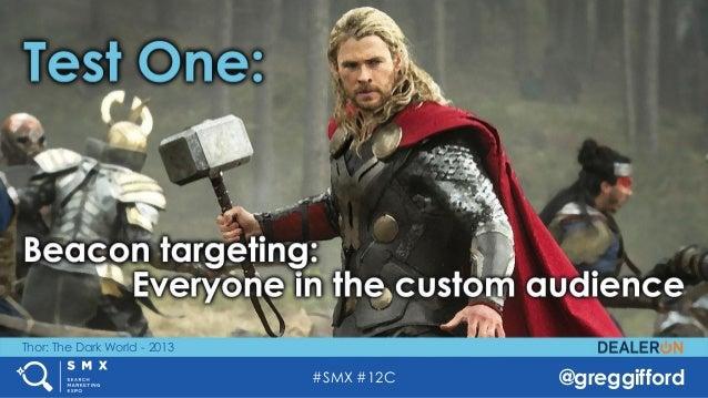 #SMX #12C @greggifford Thor: The Dark World - 2013