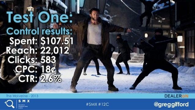 #SMX #12C @greggifford The Wolverine - 2013