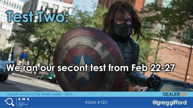 #SMX #12C @greggifford Captain America: The Winter Soldier - 2014