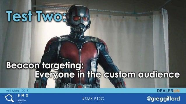 #SMX #12C @greggifford Ant-Man - 2015