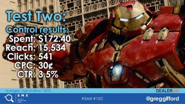 #SMX #12C @greggifford Avengers: Age of Ultron - 2015