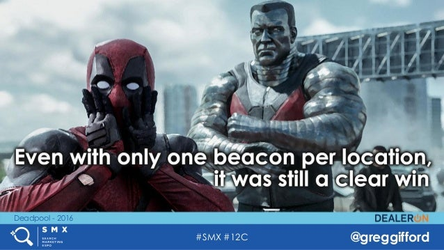 #SMX #12C @greggifford Deadpool - 2016