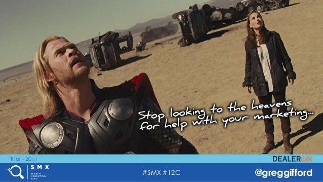 #SMX #12C @greggifford Thor - 2011