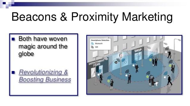 Beacons & Proximity Marketing  Both have woven magic around the globe  Revolutionizing & Boosting Business
