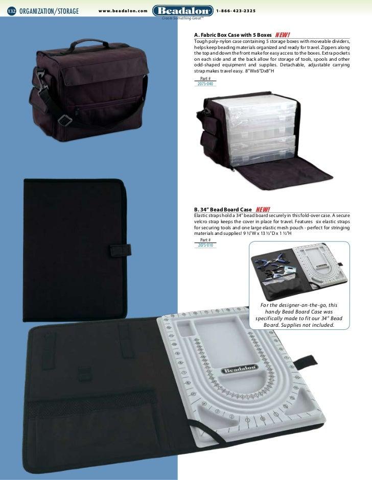Beadalon 207S-010 34-Inch Bead Board Case